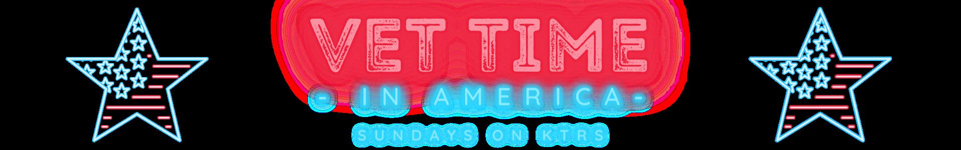 Banner Vet Time in America Radio Show